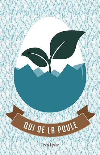 Qui de la Poule / Logo / Carte de visite